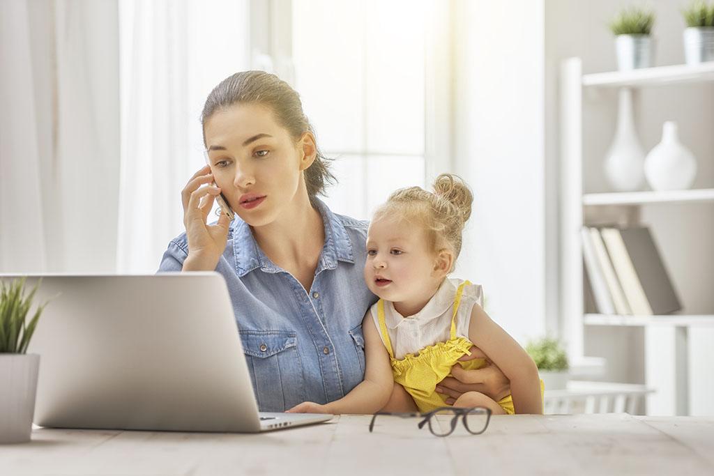 Teletrabajo en Colombia: Tips para poder realizarlo cuando tenemos hijos
