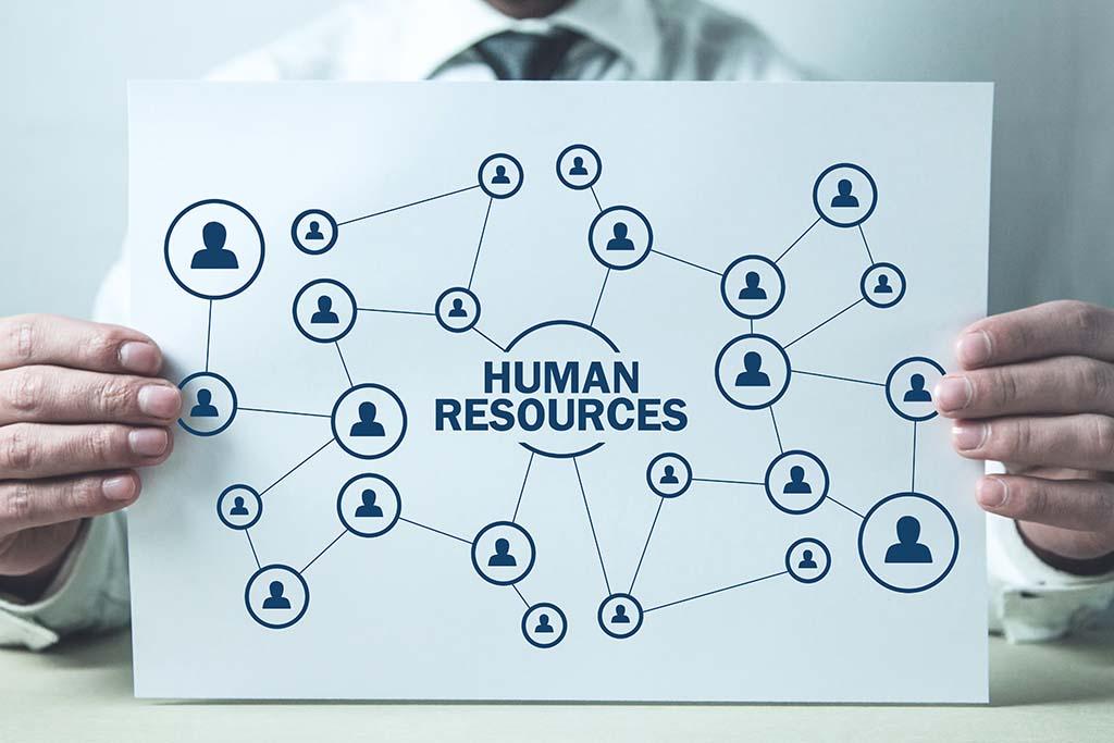 ¿Cómo el Departamento de Recursos Humanos se conecta con las demás áreas?