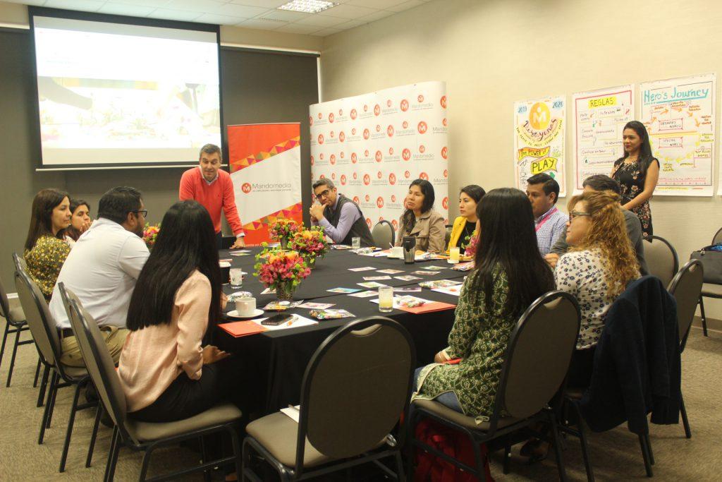 Workshop Lego Serious Play para líderes | Mandomedio Perú