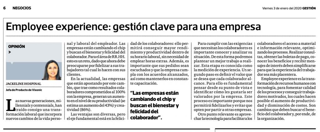 Employee Experience - ¡Conoce aquí de qué se trata! | Mandomedio Perú