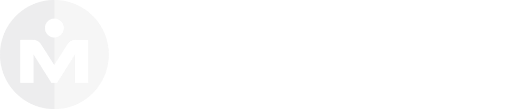 Logo MandoMedio Color Blanco | Mandomedio.com