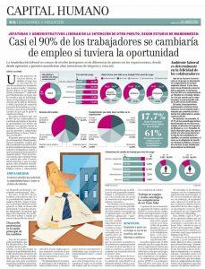 Blog: Casi el 90% de los trabajadores se cambiaría de empleo si tuviera la oportunidad | Mandomedio.com